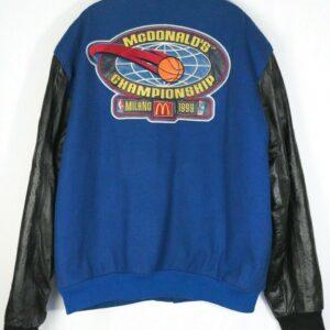 1999 McDonald's Championship Varsity Jacket