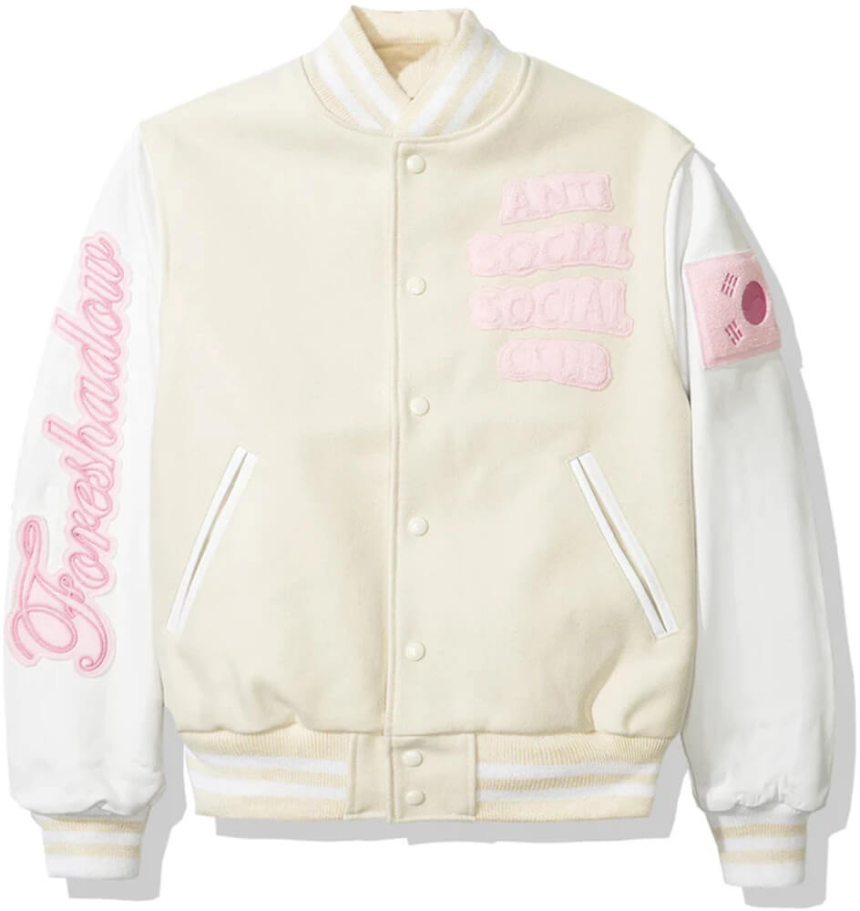 Anti Social Social Club Baseball Varsity Jacket