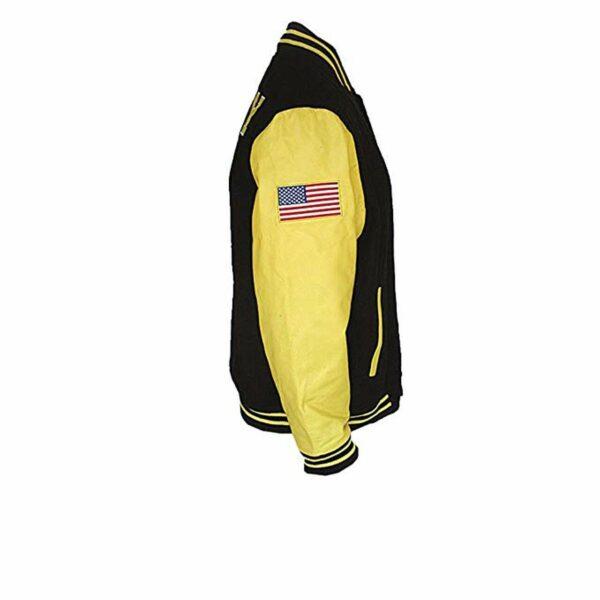 Black Gold Vietnam Vet Veteran Varsity Jacket