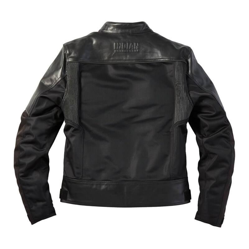 Black Indian Motorcycle Tobin Mesh Jacket