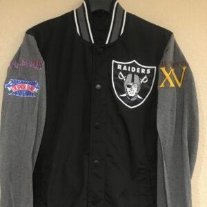 Black Oakland Las Vegas Raiders Jacket