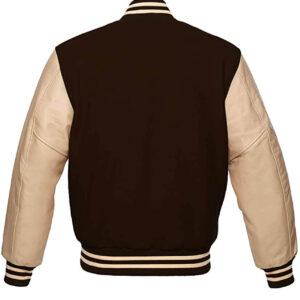Brown Bomber Varsity Jacket