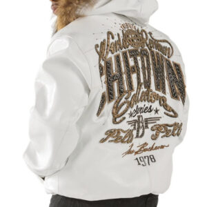 Chi Town Collector Series Pelle Pelle Fur Collar Jacket