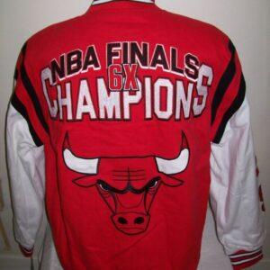 Chicago Bulls 6 NBA Finals Time Champions Jacket