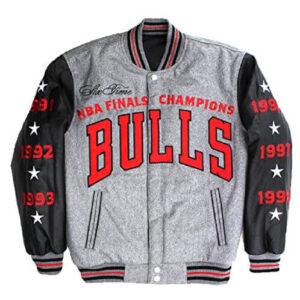 Chicago Bulls 6x Champions Reversible Varsity Jacket