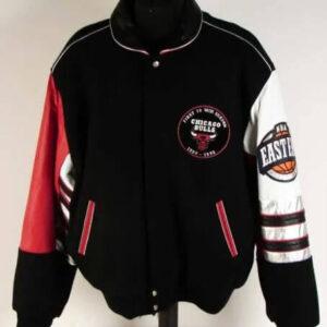 Chicago Bulls First 70 Wins 1996 Varsity Jacket