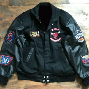 Chicago Bulls Limited Edition 90 Jeff Hamilton Varsity Jacket