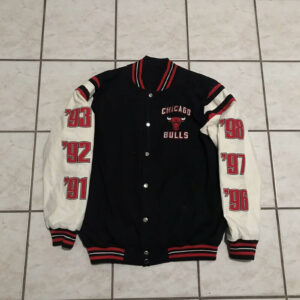 Chicago Bulls NBA Finals Champions Varsity Jacket
