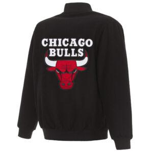 Chicago Bulls Reversible Wool Jacket