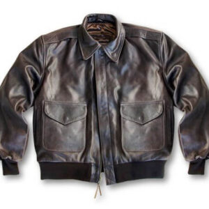 Distressed Brown Indian Motorcycle Leather Jacket