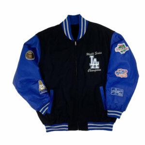 Dodgers World Series Champions Varsity Jacket