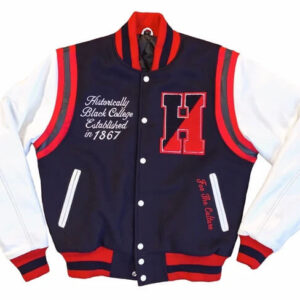 Howard University MOTTO Varsity Jacket