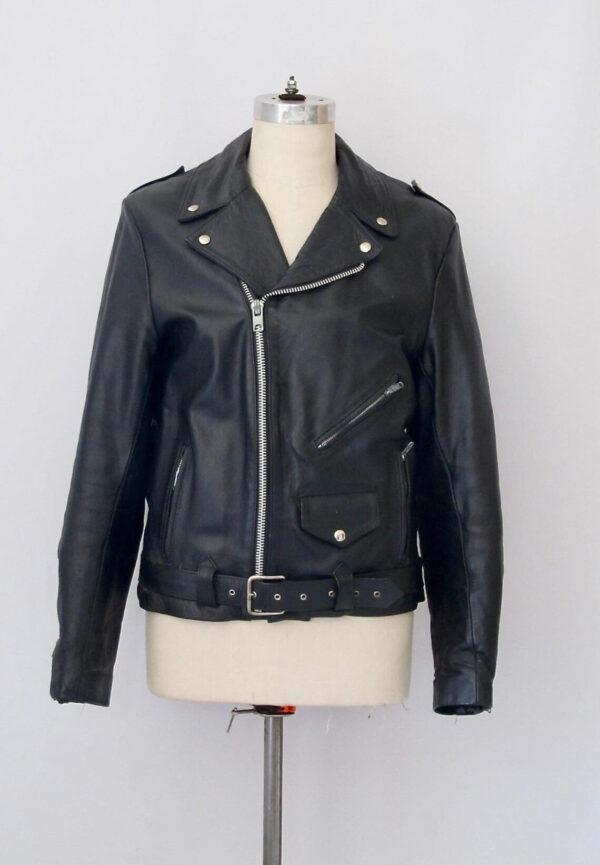 Indian Motorcycle Vintage 90s Leather Jacket