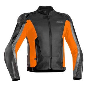 KTM Motorcycle Black And Orange Jacket