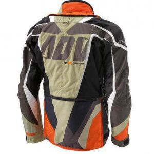KTM Motorcycle Racing Black And Orange Jacket