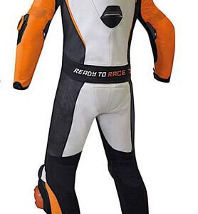 KTM Racing White And Black Motorcycle Suit