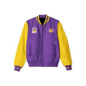 Kobe Bryant Los Angeles Lakers Bomber Jacket