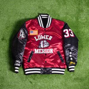 Kobe Bryant Lower Merion Satin Jacket