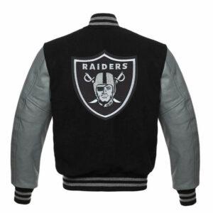 Las Vegas Raiders Letterman Varsity Jacket