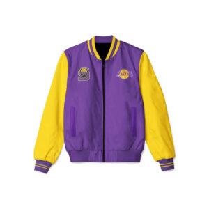 Lebron James Bomber Los Angeles Lakers Jacket