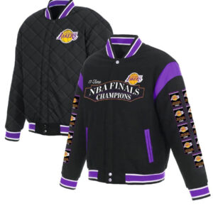 Los Angeles Lakers 17 time NBA Finals Reversible Jacket