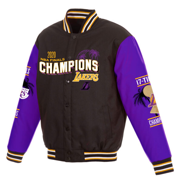 Los Angeles Lakers 17x Finals Champions Jacket