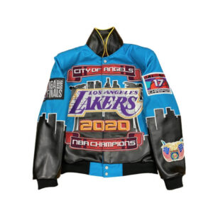 Los Angeles Lakers City Of Angels Championship Jacket