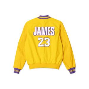 Los Angeles Lakers Lebron James Bomber Jacket