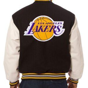 Los Angeles Lakers Two Tone Varsity Jacket