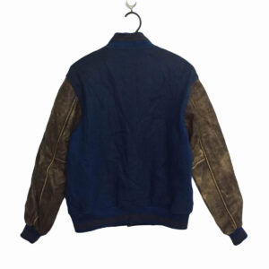 Macbeth MB Blue Varsity Letterman Jacket