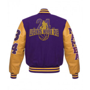 Mamba LA Lakers Legend Never Die Varsity Jacket