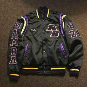 Mamba Legend Never Die Varsity Jacket