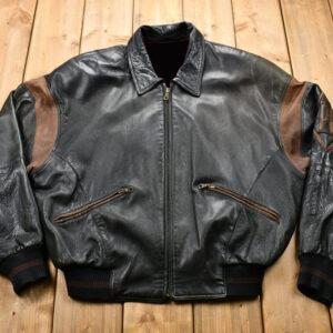 Marc Buchanan Pelle Pelle Soda Club Leather Jacket