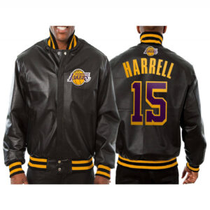 Montrezl Harrell Los Angeles Lakers Leather Jacket