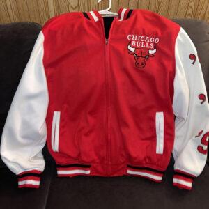 NBA Finals Bulls 6x Chicago Bulls Championship Jacket