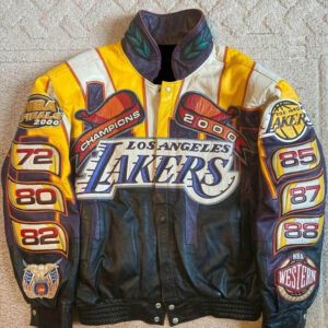 NBA Los Angeles Lakers Championship Leather Jacket