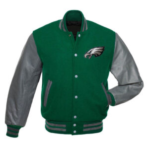 NFL Letterman Philadelphia Eagles Varsity Jacket