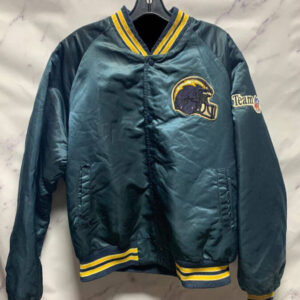 NFL San Diego Chargers Satin Button Up Jacket