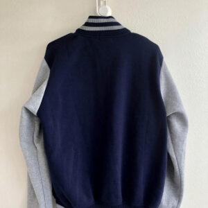 Navy Grey San Francisco CA Letterman Varsity Jacket