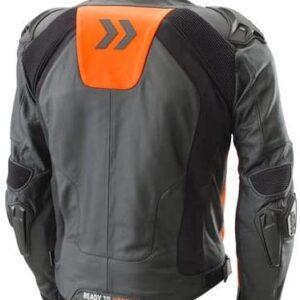 Orange And Black KTM Motorcycle Jacket