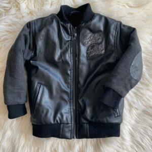 Pelle Pelle 3T 50's Style Black Varsity Jacket