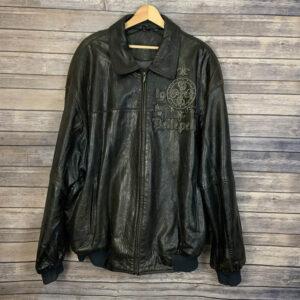 Pelle Pelle Black Leather Marc Buchanan Jacket