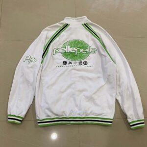 Pelle Pelle Embroidered Cotton White Jacket