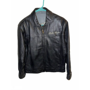 Pelle Pelle Embroidered Marc Buchanan Leather Jacket
