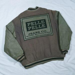 Pelle Pelle Hiphop Vintage 90s Varsity Jacket