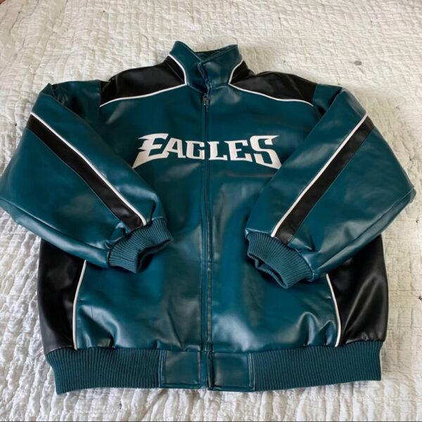 Philadelphia Eagles NFL Leather Jacket