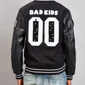 Reason Bad Kids Varsity Baseball Jacket