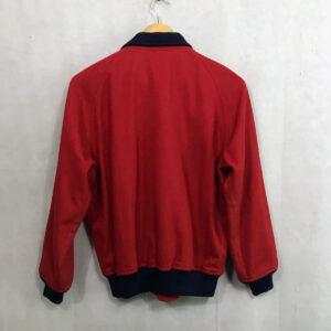 Red Vintage 90s Mcgregor American Spirit Varsity Jacket