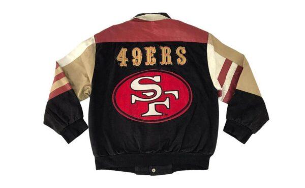San Francisco Vintage 49ers Baseball Varsity Jacket