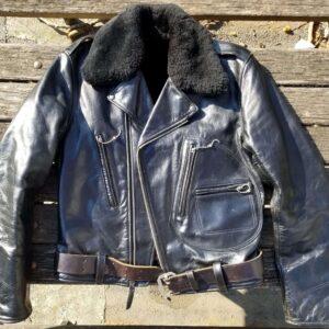 Sugar Cane Indian Motorcycle Racing Leather Jacket
